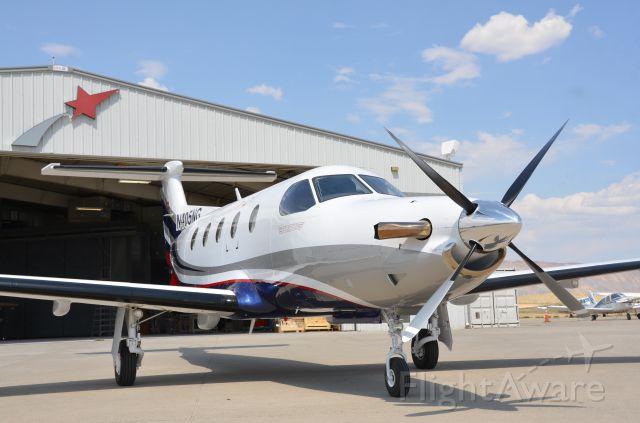 Pilatus PC-12 (N405NG) - Fresh paint...