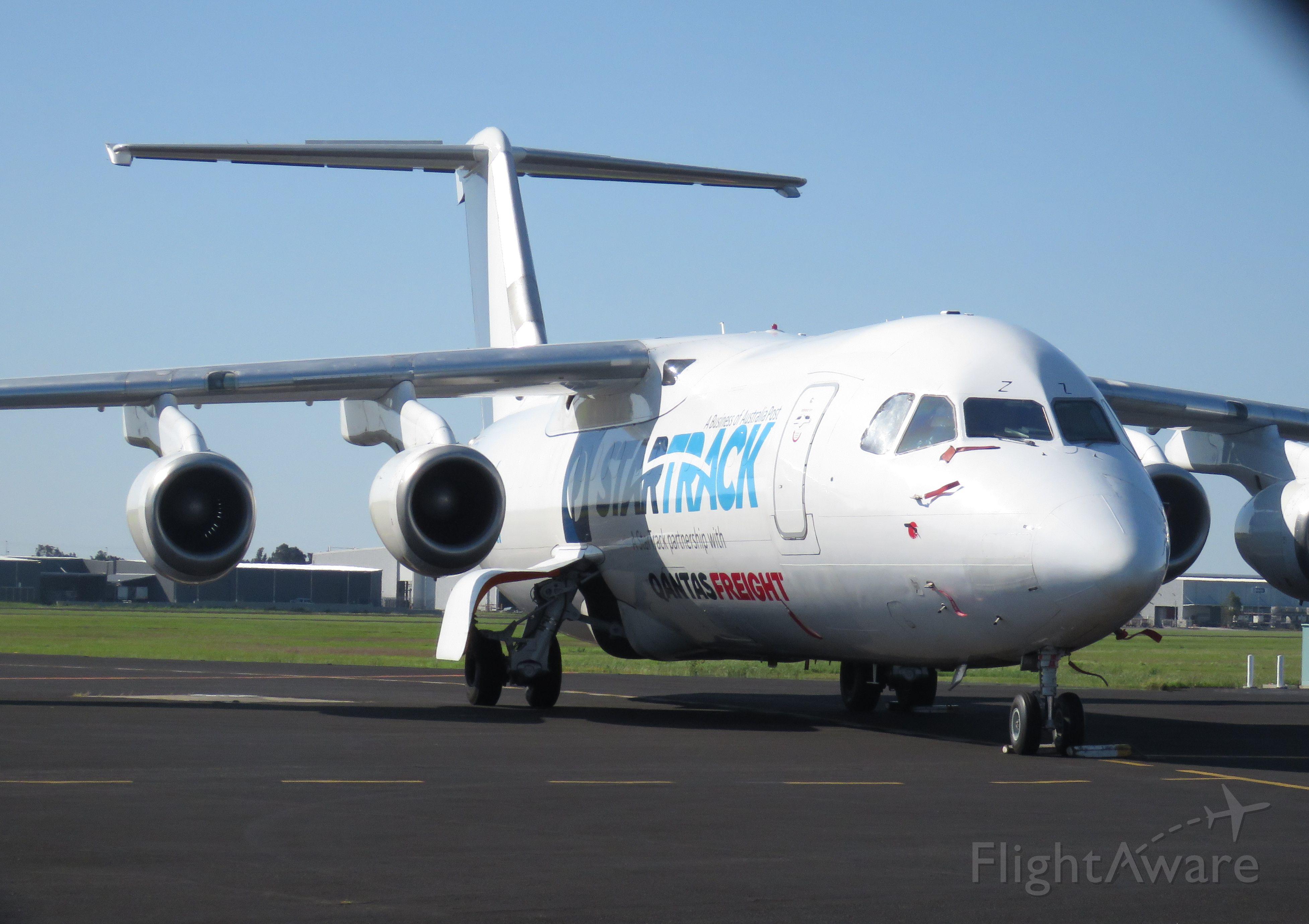 British Aerospace BAe-146-300 (VH-NJZ)