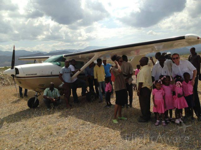 Cessna 206 Stationair (N206AA) - Taken in Haiti while doing mission work.