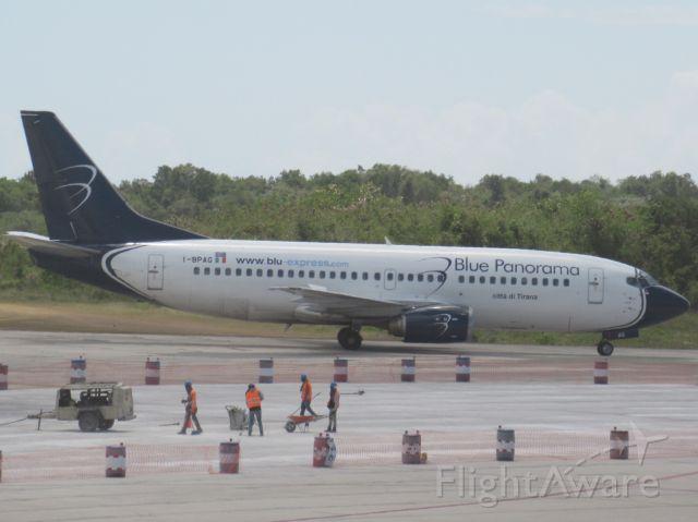 "BOEING 737-300 (I-BPAG) - ""Citta di Tirana""!"