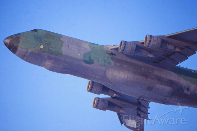 Lockheed C-5 Galaxy (67-0170) - date: 17-Feb-1991: climb-out RWY25L