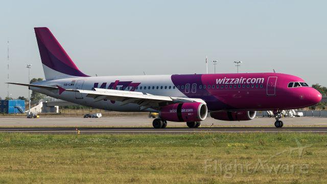 Airbus A320 (HA-LWN)