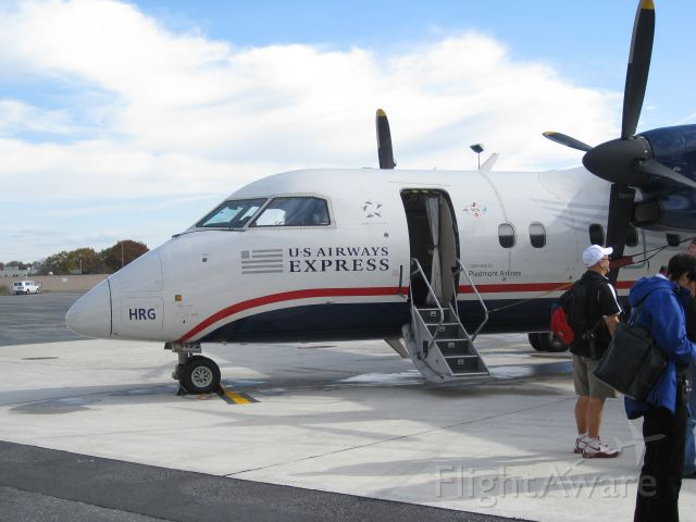 de Havilland Dash 8-100 (N942HA) - Arrival from PHL