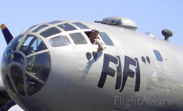 Boeing B-29 Superfortress (FIFI) - B-29 FIFI flying museum makes a stop at KGYH
