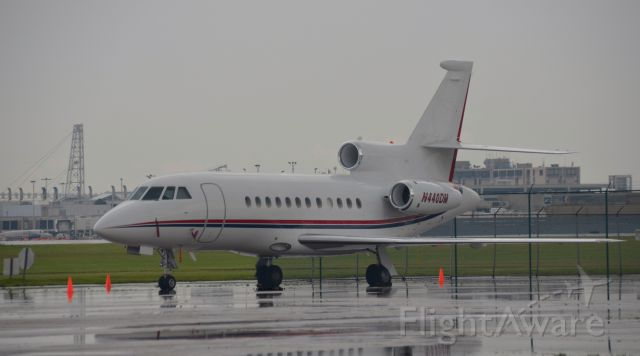 Dassault Falcon 900 (N440DM) - N440DM owned by EnvisionRxOptions of Twinsburg, Ohio seen at CLE. EnvisionRxOptions (KJM Aviation) owned a Learjet 55 with the same registration. Look for more photos on OPShots.net