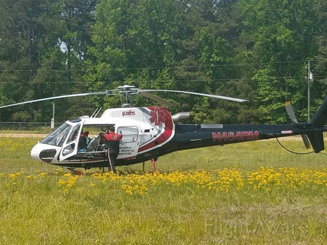 Eurocopter AS-350 AStar (N464RM) - Regional Air Medical Services
