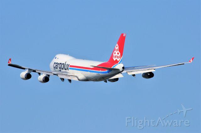 Boeing 747-400 (LX-RCV) - IND 23-L 08-03-17 FLT 770 TO ORD