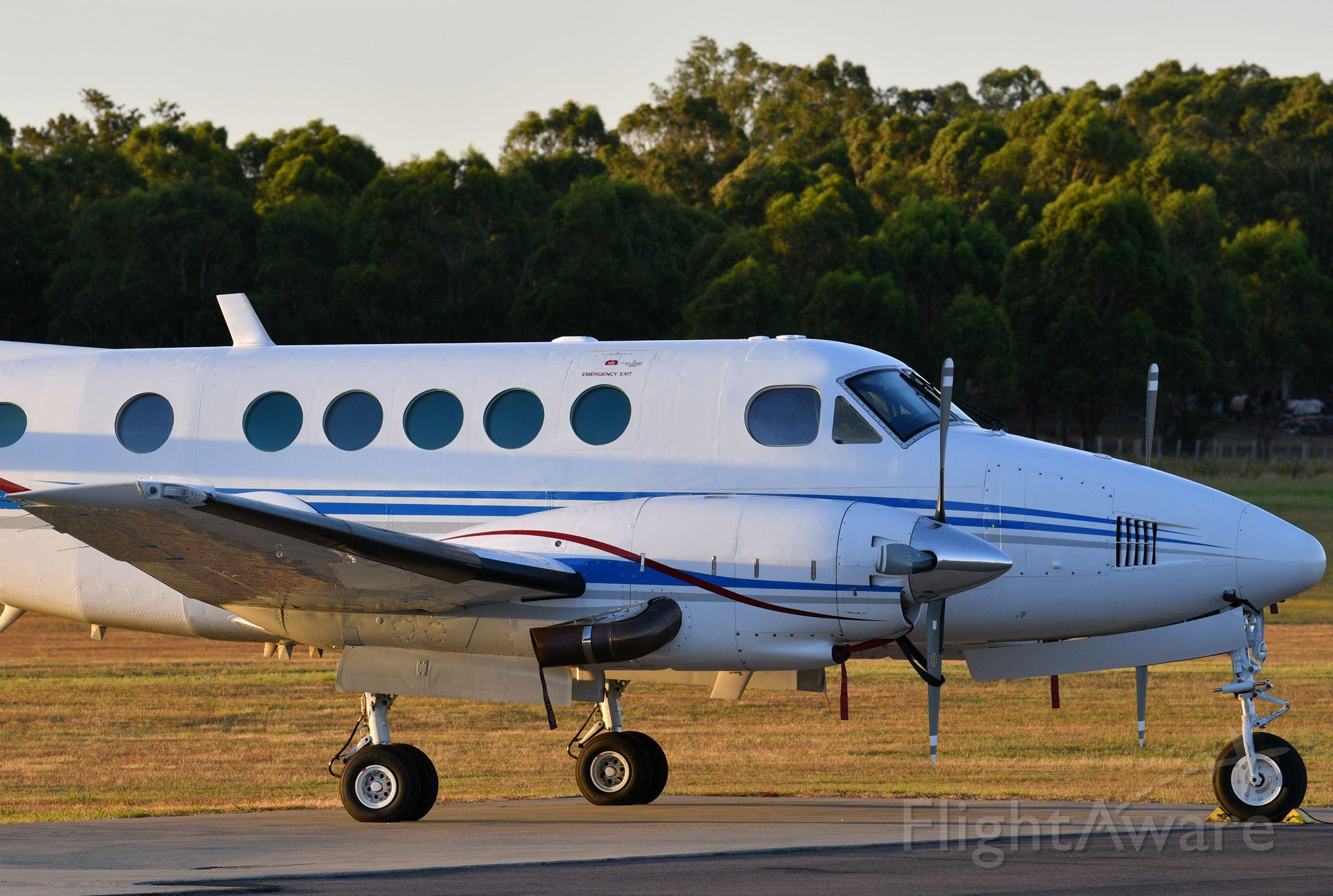 Beechcraft King Air 100 (VH-EJV) - The only Australian-registered King Air B100. Manufactured 1980.