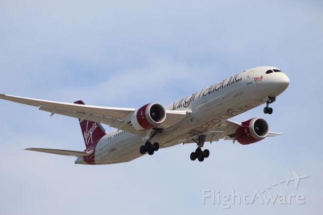 Boeing 787-9 Dreamliner (G-VNYL) - VIR539 from London (LHR) on 7/14/20. Landing on runway 28C.
