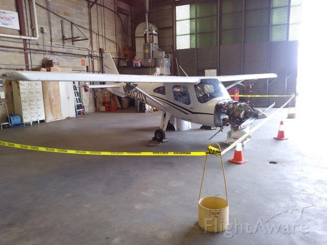 Cessna Skycatcher (N6020Y) - Oops