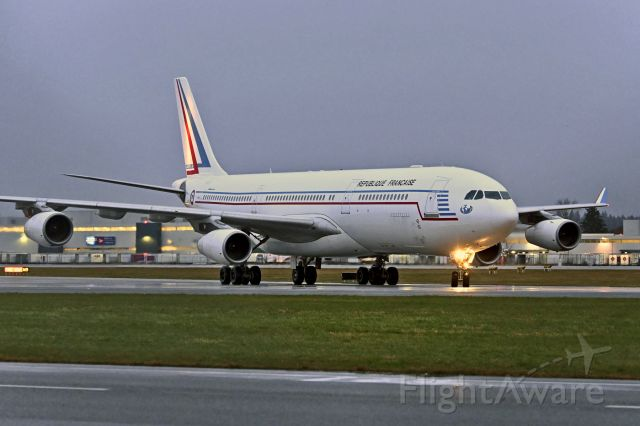 Airbus A340-200 (F-RAJA) - This is probably my last shot of this bird as she is due to retire early 2021.