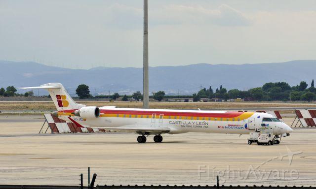 Canadair Challenger (EC-JXZ) - Air Nostrum Canadair CL-600-2D24 EC-JXZ in Valencia