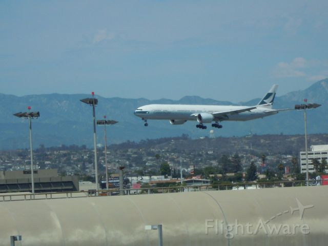 BOEING 777-300 — - CATHAY PICIFIC 777-300 LAX