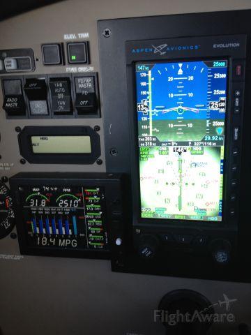 Piper Malibu Mirage (N447DD) - 300+knts gs 17gph