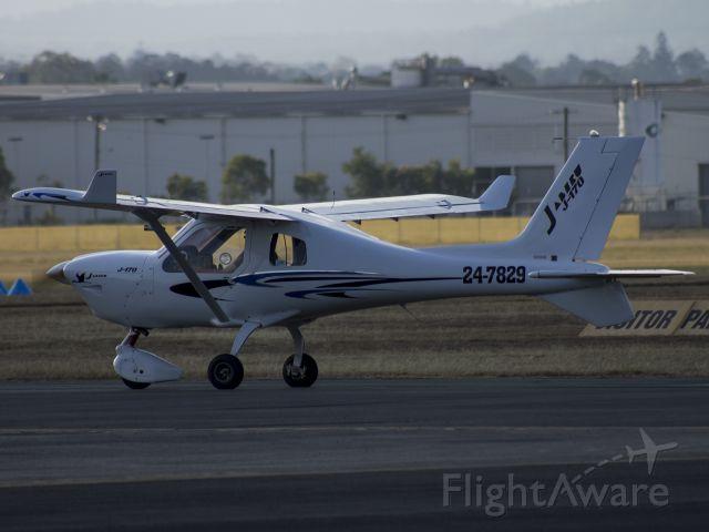 JABIRU Jabiru ST-3 (24-7829) - Taken from the Eastern Apron shortly after one of my solo training flights.