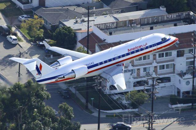 Canadair Regional Jet CRJ-200 (N862AS) - Departing LAX