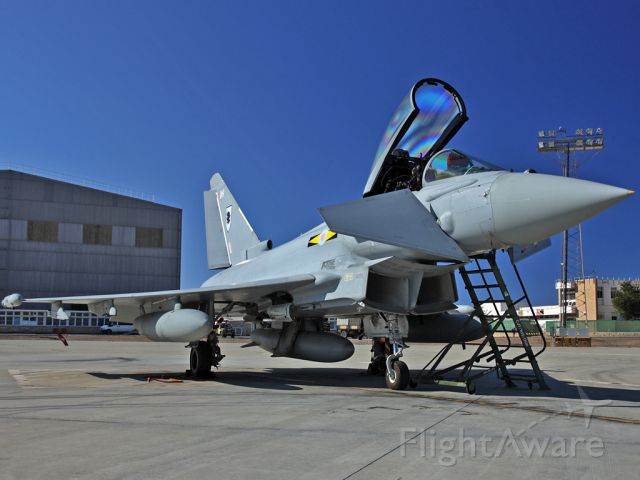 — — - Eurofighter Typhoon 11 Sqn