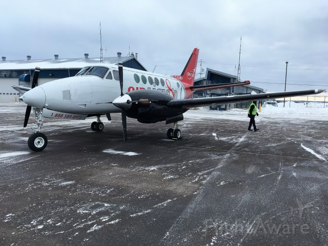 Beechcraft King Air 100 (C-GJBV)