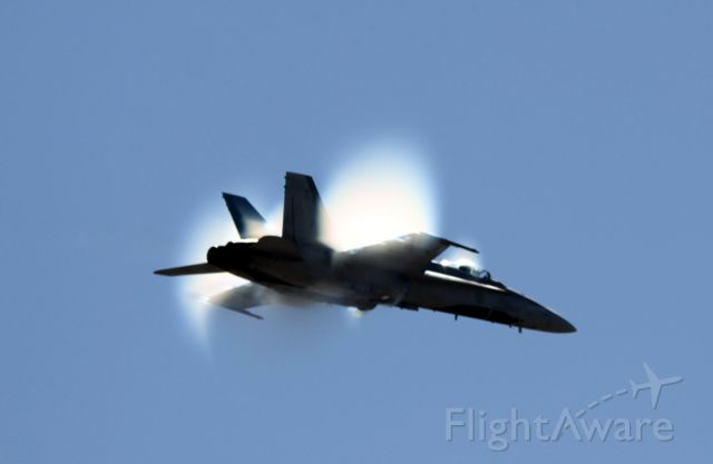 McDonnell Douglas FA-18 Hornet (18-8762) - Canada Air Force demonstration at the California International Airshow, Salinas, Ca    09-26-2015