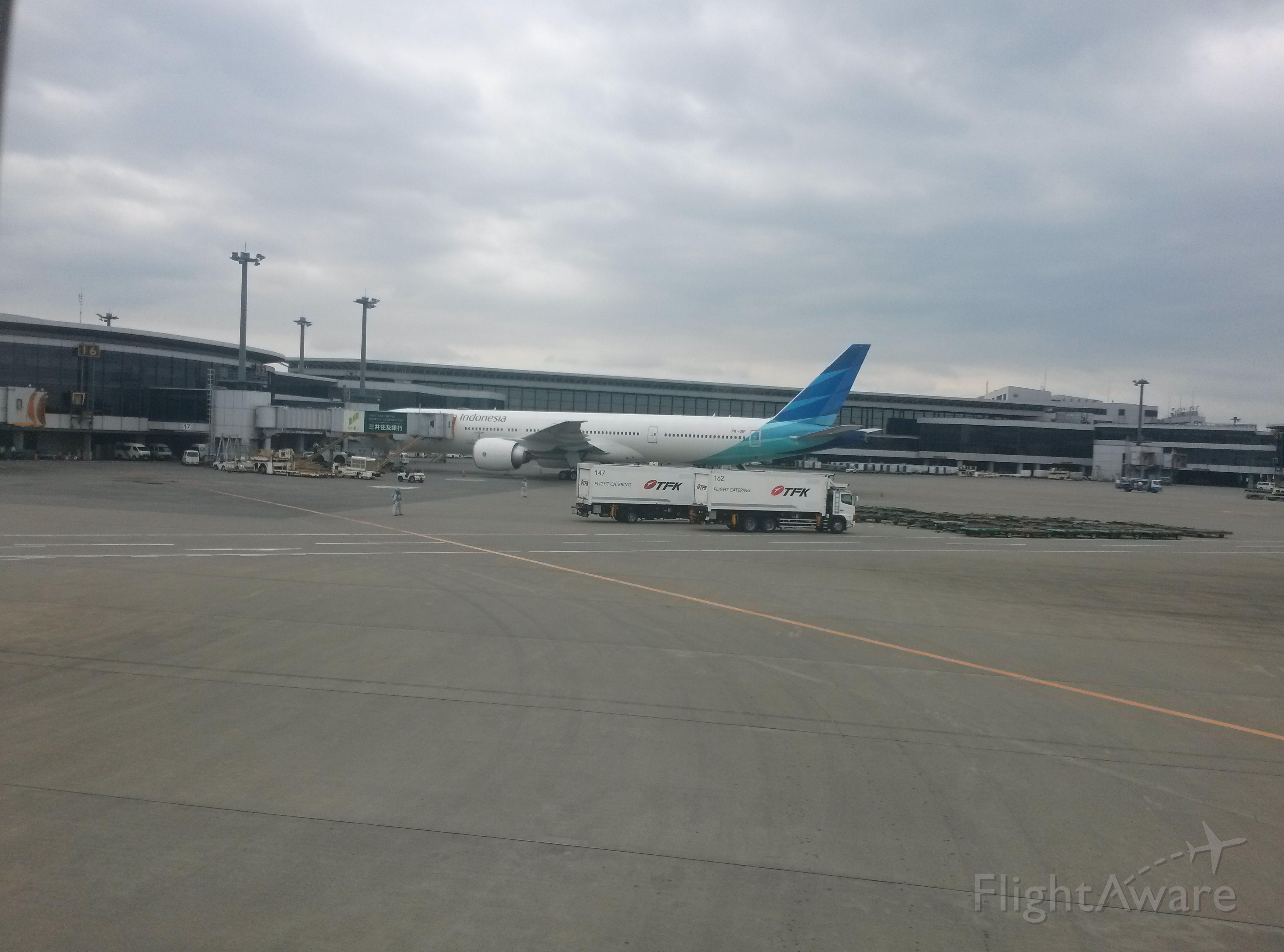 BOEING 777-300 (PK-GIF) - Garuda B777-3U3ER cn29148