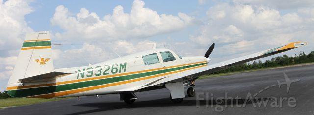 Mooney M-20J MSE (N9326M) - At KRFI