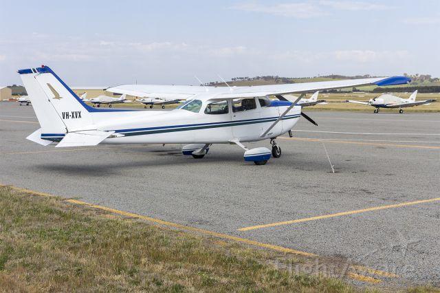 Cessna Skyhawk (VH-XVX) - Cessna 172N Skyhawk (VH-XVX) at Wagga Wagga Airport.