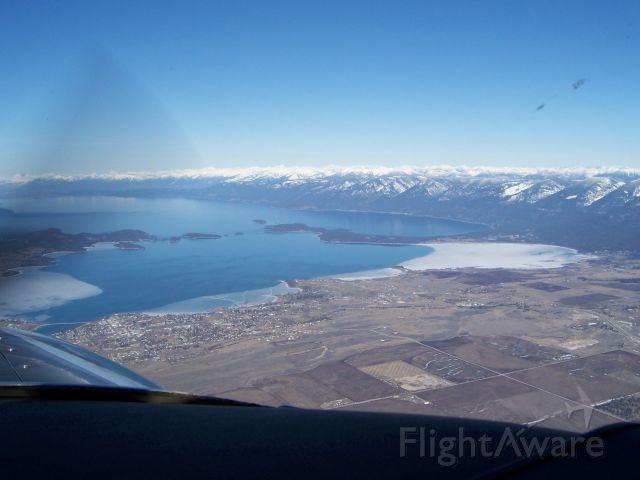 N6246Q — - Approaching Flathead Lake, Montana