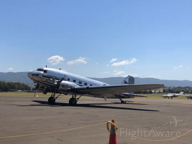 — — - Douglas Corp DC3 VH-AES at HARS Museum Wollongong Australia