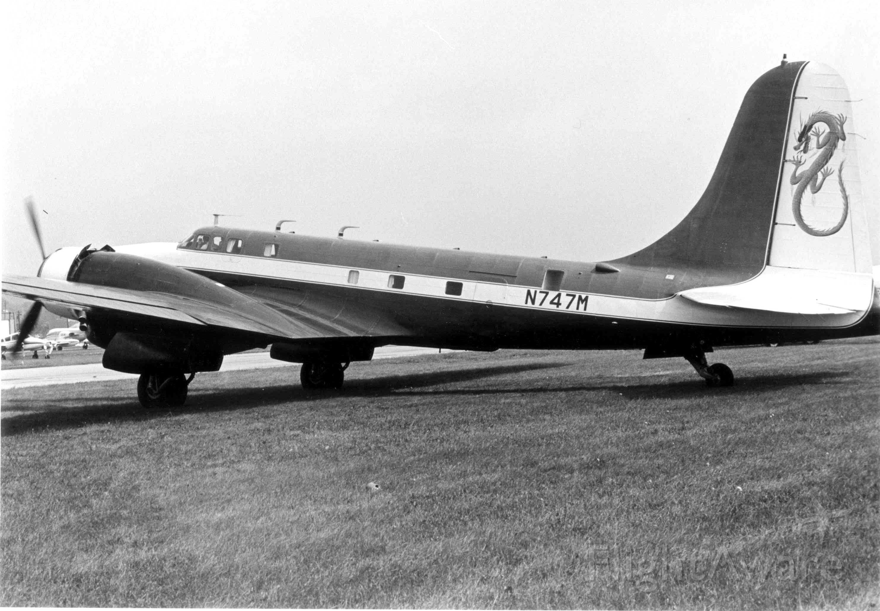 Douglas B-23 Dragon (N747M) - Blue Dragon
