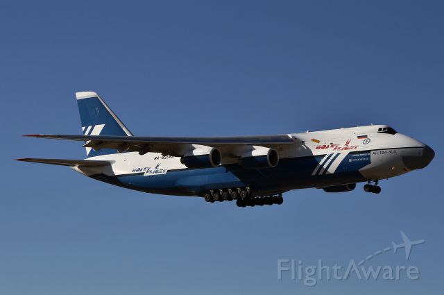 Antonov An-124 Ruslan (RA-82068) - Polet Airlines An124-100<br />January 18, 2013