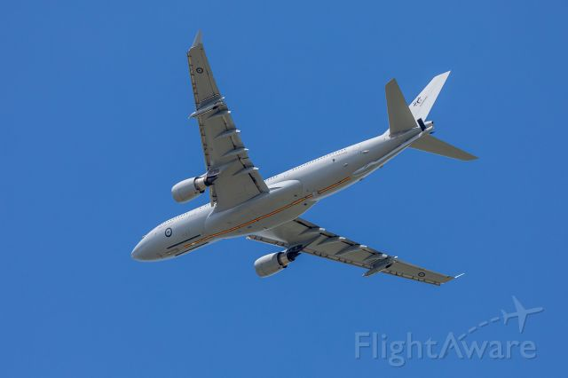 Airbus A330-200 (A39004) - Missed approach.