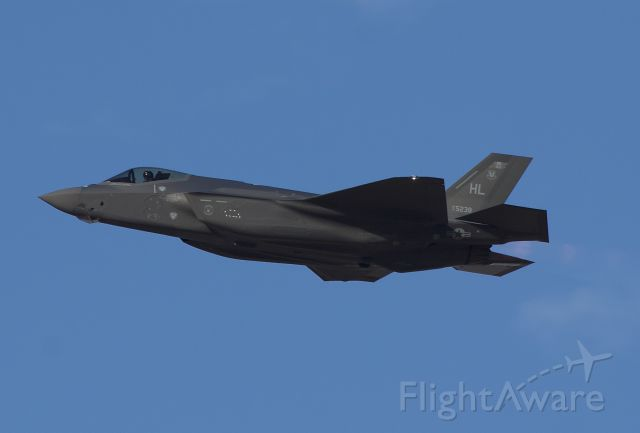 """Lockheed F-35C (17-5238) - US Air Force F-35A departing NAS JRB Fort Worth, formally Carswell Air Force Base (Please view in """"full"""" for highest image quality)"""
