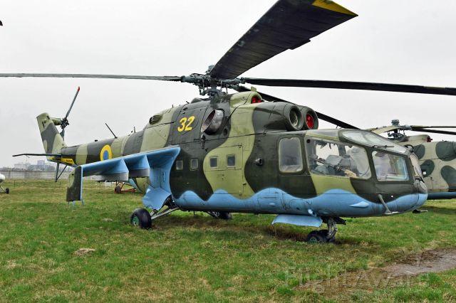 MIL Mi-25 — - on display at Ukraine State Aviation Museum