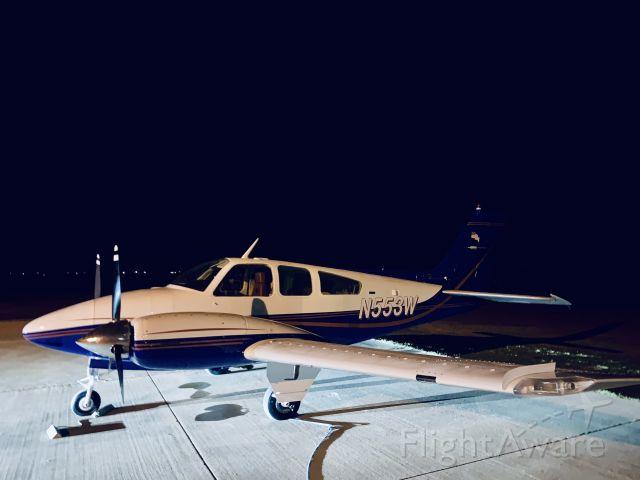 Beechcraft 55 Baron (N553W) - BE55 Beechcraft