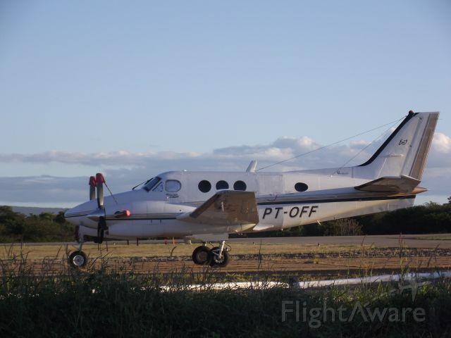 PT-OFF — - BEECHCRAFT C90A KING AIR (EASY TÁXI AÉREO)