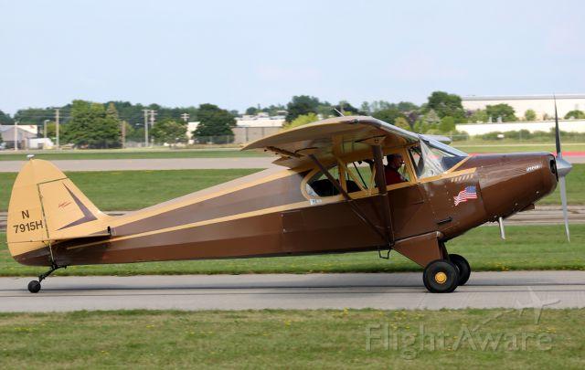 Piper PA-12 Super Cruiser (N7915H)