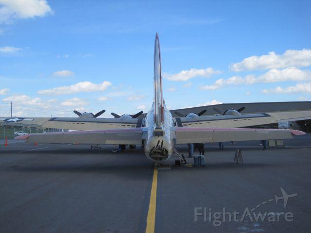 — — - B-17G Tri Cities Regional Airport Northeast Tennessee