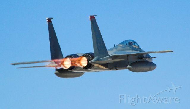 McDonnell Douglas F-15 Eagle (F15) - ZZ tail code on an F-15 from Kadina Air Force Base, Japan.