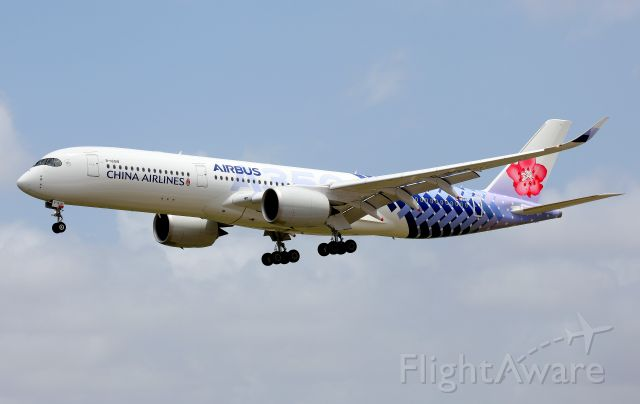 Airbus A350-900 (B-18918) - Short Final to Rwy 16R