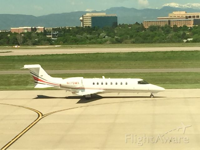 Bombardier Learjet 75 (N175MX) - Brand new Learjet 75 landed at Centennial Airport