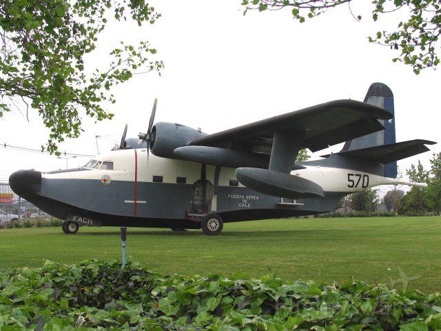 N570 — - Grumman HU-16B Albatross<br />Museo Nacional Aeronautico y del Espacio.<br />Santiago, Chile<br />Photo: 18.10.2010