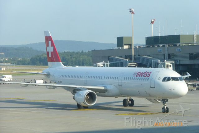 Airbus A321 (HB-IOH) - Del to Swissair in 1997br /Del to Swiss in 2002