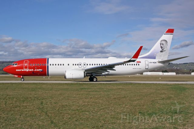 Boeing 737-800 (LN-NGH)