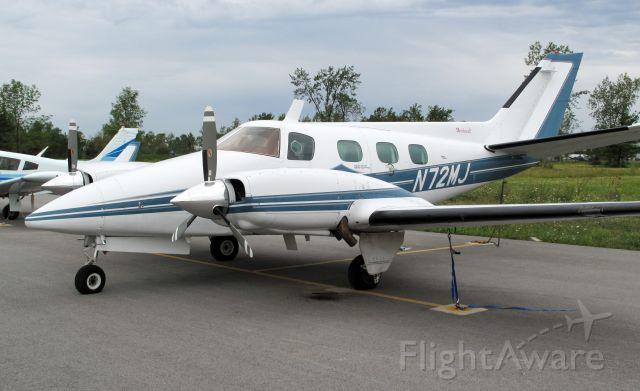 Beechcraft Duke (N72MJ) - Powerful, fast aircraft!