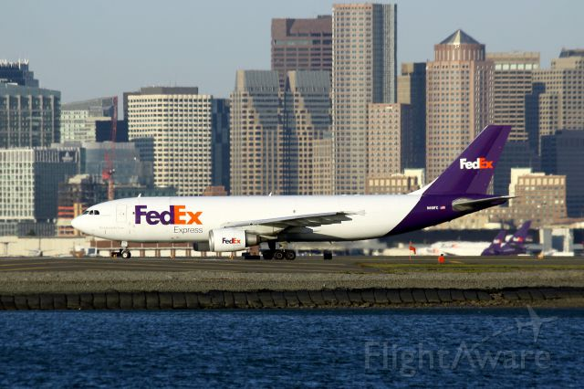 Airbus A300F4-600 (N651FE) - FDX 3601 heading to Indianapolis
