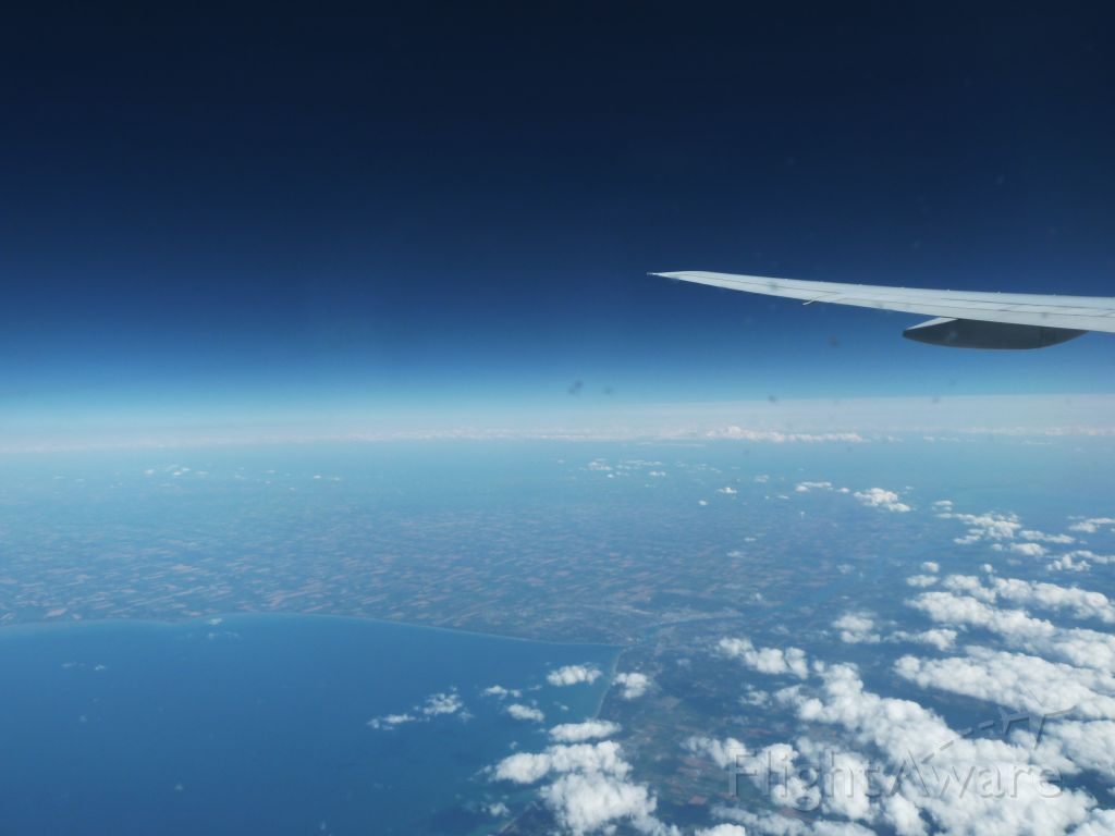 Boeing 777-200 (G-YMMI) - Space, the final frontier!