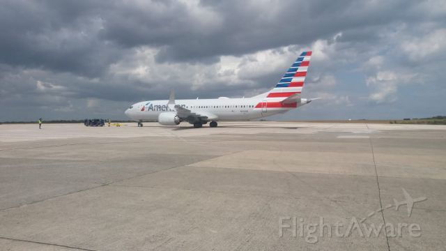 Boeing 737-800 (N313SB) - Beautiful B738MAX preparing for its departure to the city of MIAMI from the city of santo domingo...