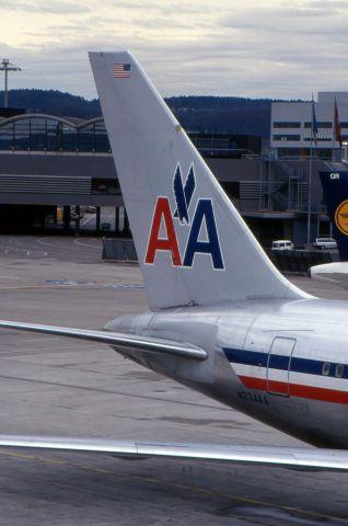 N334AA — -  il primo aereo a colpire il World Trade Center di New York l