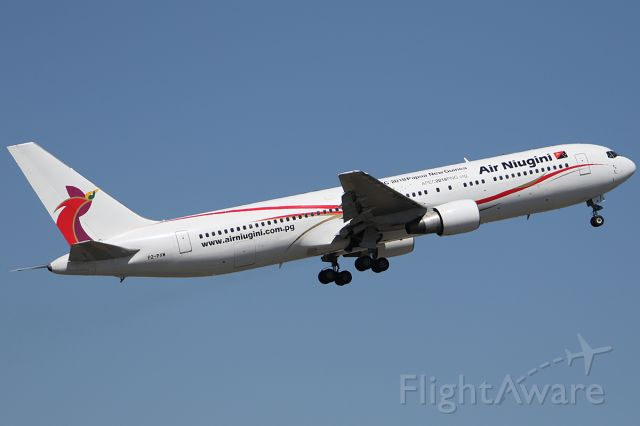 BOEING 767-300 (P2-PXW) - on 3 December 2018