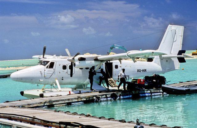 De Havilland Canada Twin Otter (8Q-HIK) - 2000 - My 1st and best seaplane flight